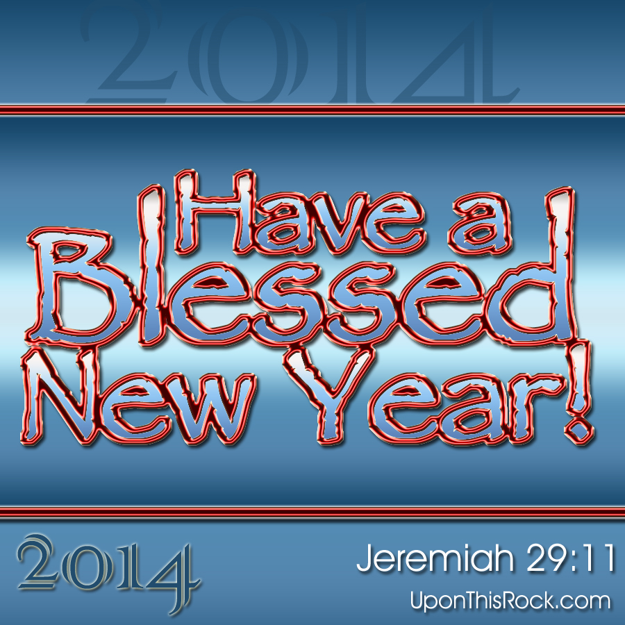 blessed new year 2014