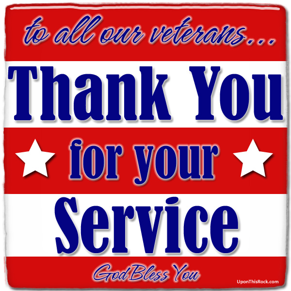 veteran's day - Thank you for your service